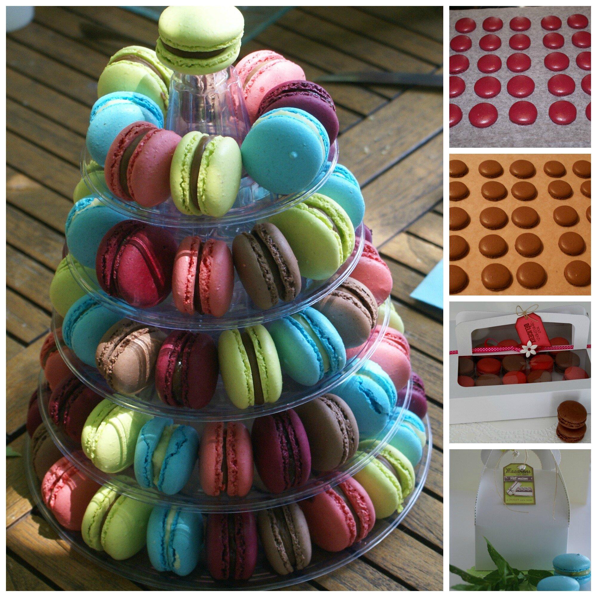 Cours de pâtisserie : Les Macarons!