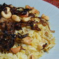 Chicken biryani de Rafeena, un rgal !