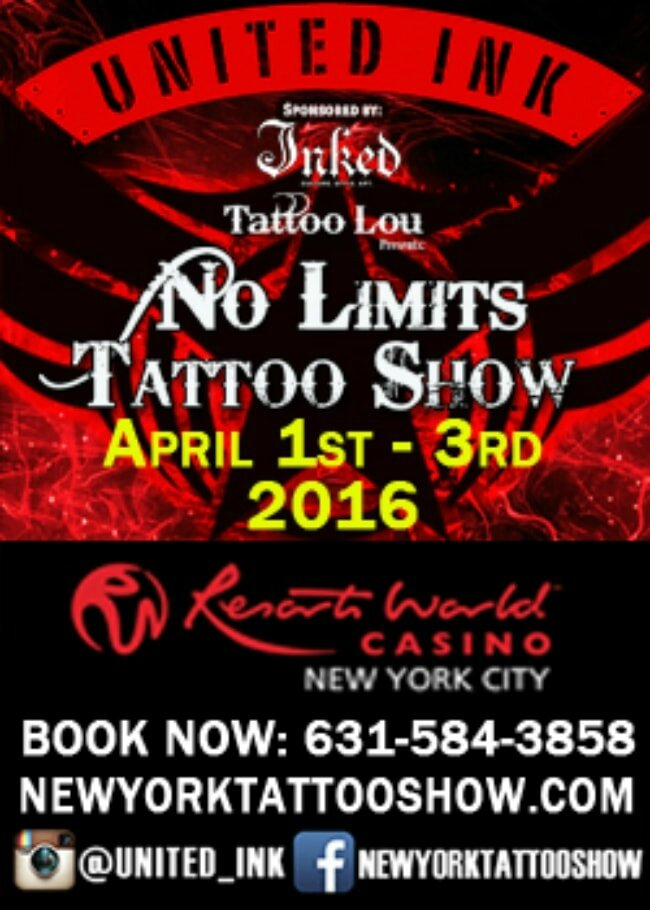 New York, États-Ink Tattoo Show actions 01 - 03 Avril 2016