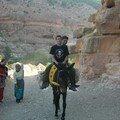 William sur la mule