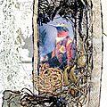 oiseau dentelle