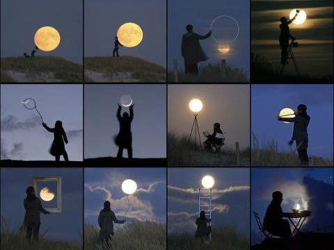 photos de lune
