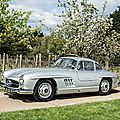 Bonhams offers one of the earliest surviving mercedes-benz 300sl 'gullwing' coupes