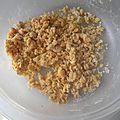 Galettes végétales de pois chiches et fondue de poireaux au safran