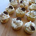 Cupcakes moelleux à la noix de coco