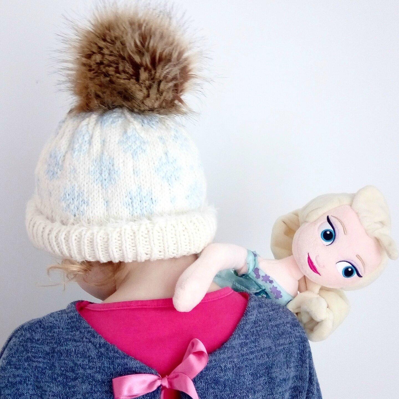 """""""Winter storm hat"""" pour Mademoiselle T"""