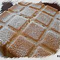 Gâteau moelleux aux agrumes