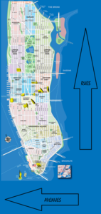 Plan de Manhattan , New York chez scrat et gloewen