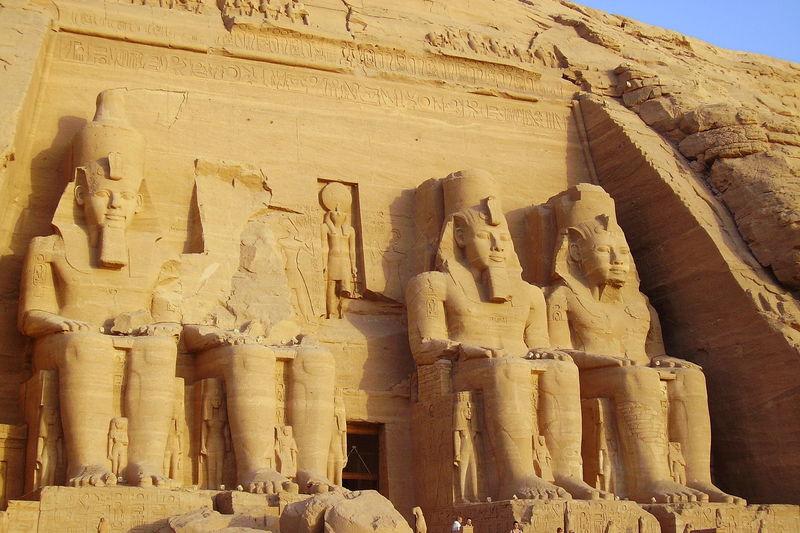 Le temple de RAMSES II