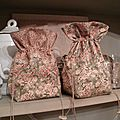 Ditty Bags N°4 SET OF TWO (Green Shades) OOAK