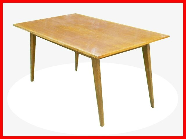 Table de repas vintage scandinave annees 50 meubles et - Archives departementales 33 tables decennales ...