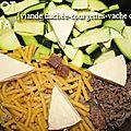 One pot pasta {viande hachée-courgettes-vache qui rit} (cookeo)