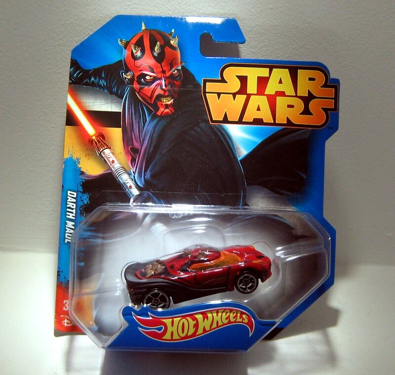 Darth Maul (Starwars) Hotwheels