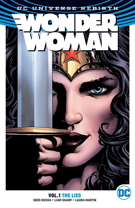 rebirth wonder woman vol 01 the lies TP