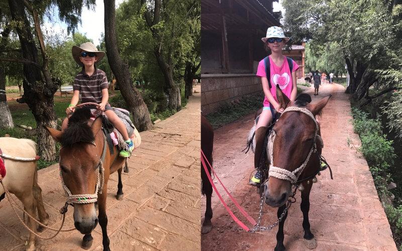 Enfants chevaux