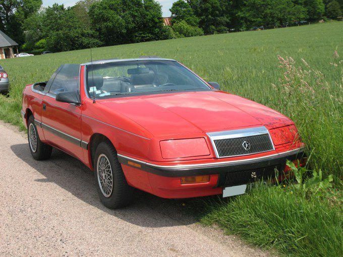 Chrysler Le Baron Convertible 1988 1992 Autos Crois Es