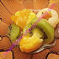 Salade de fruits chinois