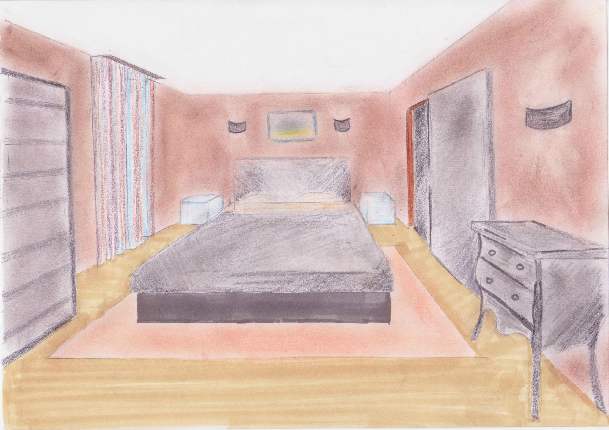 Perspective Chambre 2 Photo De Dessins En Perspective