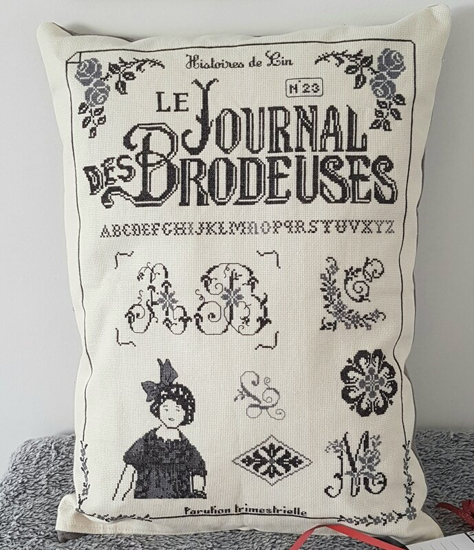 COUSSIN JOURNAL DES BRODEUSES PRES