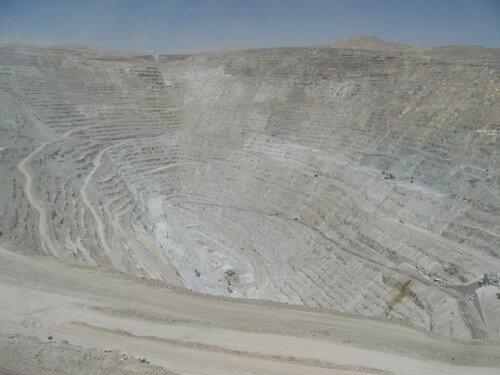 Chuquicamata, la mine de cuivre
