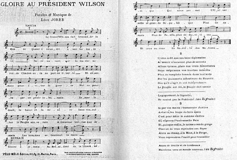 Gloire au président Wilson1
