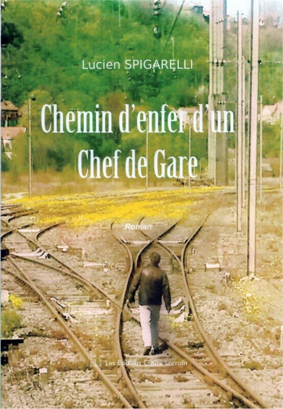 Couverture face chemin d'enfer d'un Chef de Gare