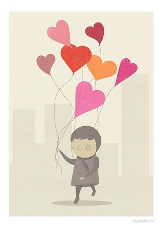 The love balloon_judy Kaufmann