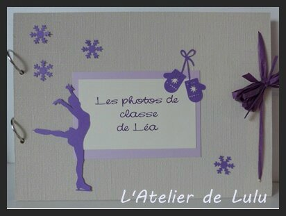 album photos de classe patineuse