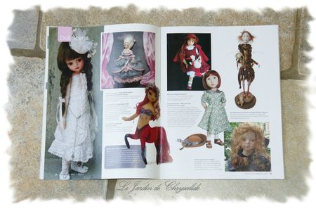 publication Dolls Magazine sept 2013 bis