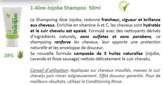 TRAVEL KIT SHAMPONG ALOE JOJOBA 1