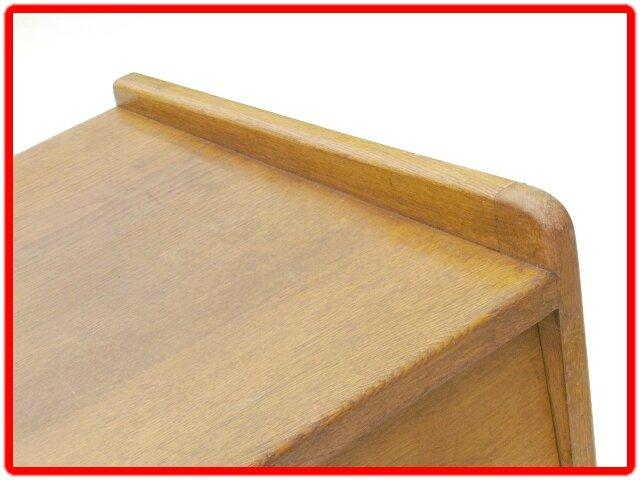 commode vintage bois massif années 50