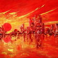 Soleil rouge