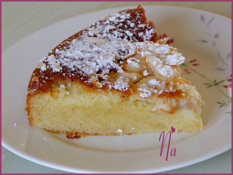 Recette Cake Pommes Poudre Amande