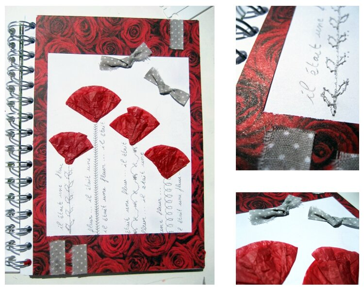artjournal coquelicots