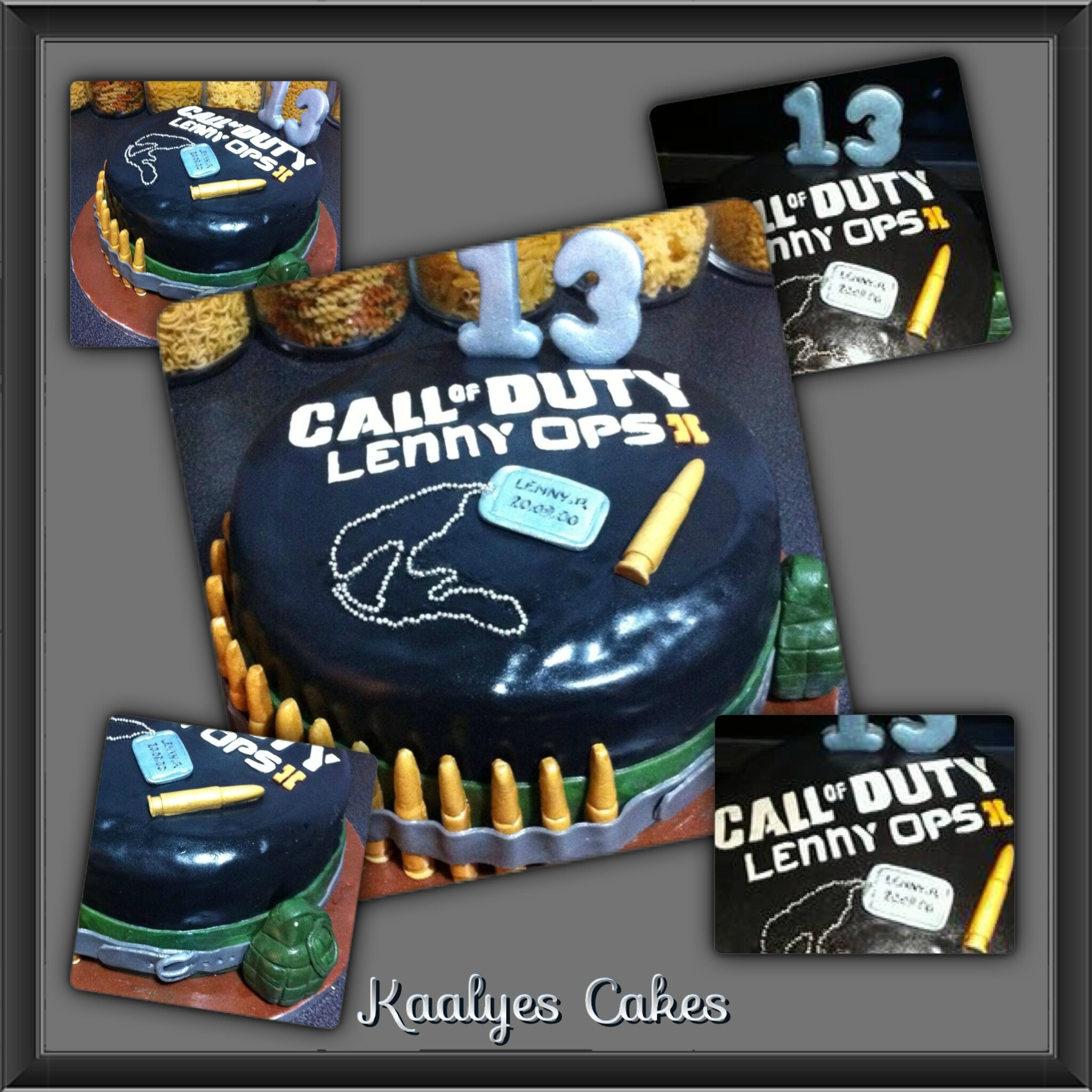 Gâteau Call Of Duty