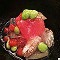 Chihana - kyoto : intestins et larves de poisson façon trois étoiles...
