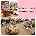 Cookies aux chouchous et pépites de chocolat