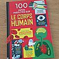 Nous avons lu 100 infos insolites sur le corps humain