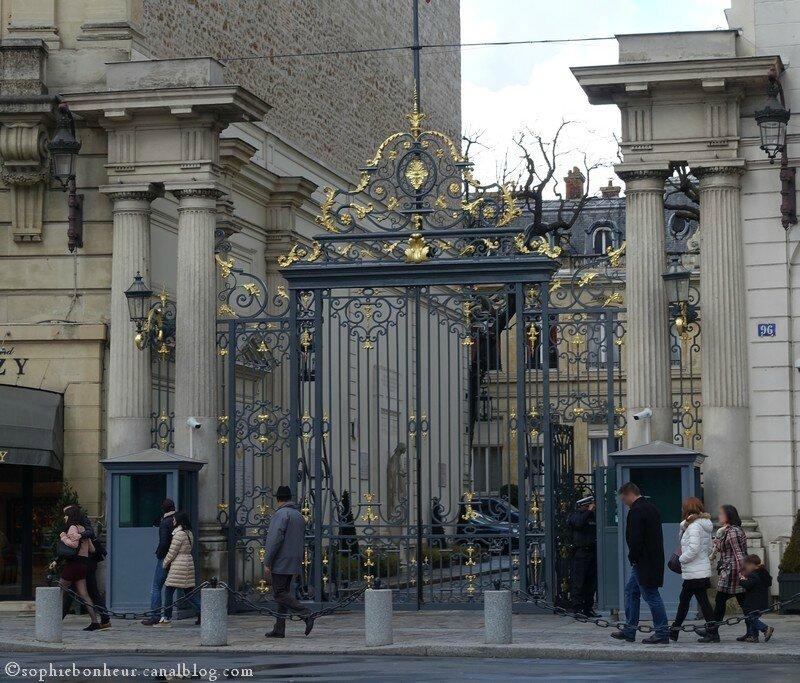 Paris ministère Intérieur