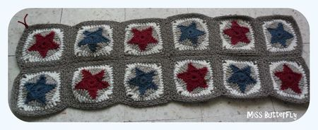 CAL Granny -All star blanket