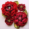 Mes fleurs en crochet