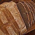 Pain à la farine de châtaigne