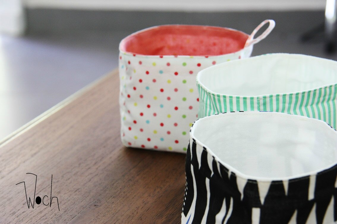 Hervorragend Le tuto du panier en tissu { DiY pour le weekend } - Woch made in  GD28
