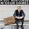 Macron compte sur la générosité des français