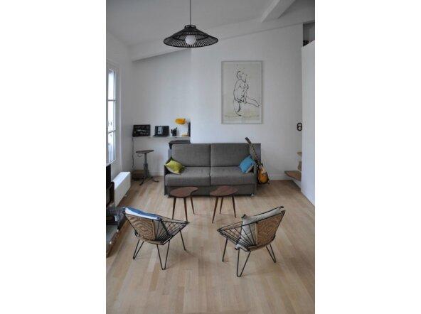 Visite parisienne aujourd 39 hui ce petit pom gus for Deco appartement 27m2