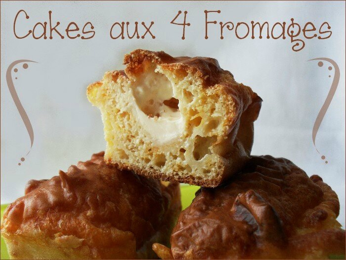 mini cakes aux 4 fromages 1
