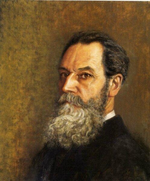 Charles Lacoste, autoportrait, 1928.