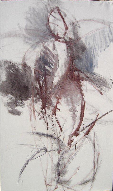 L'envolée (195 x130 cm)