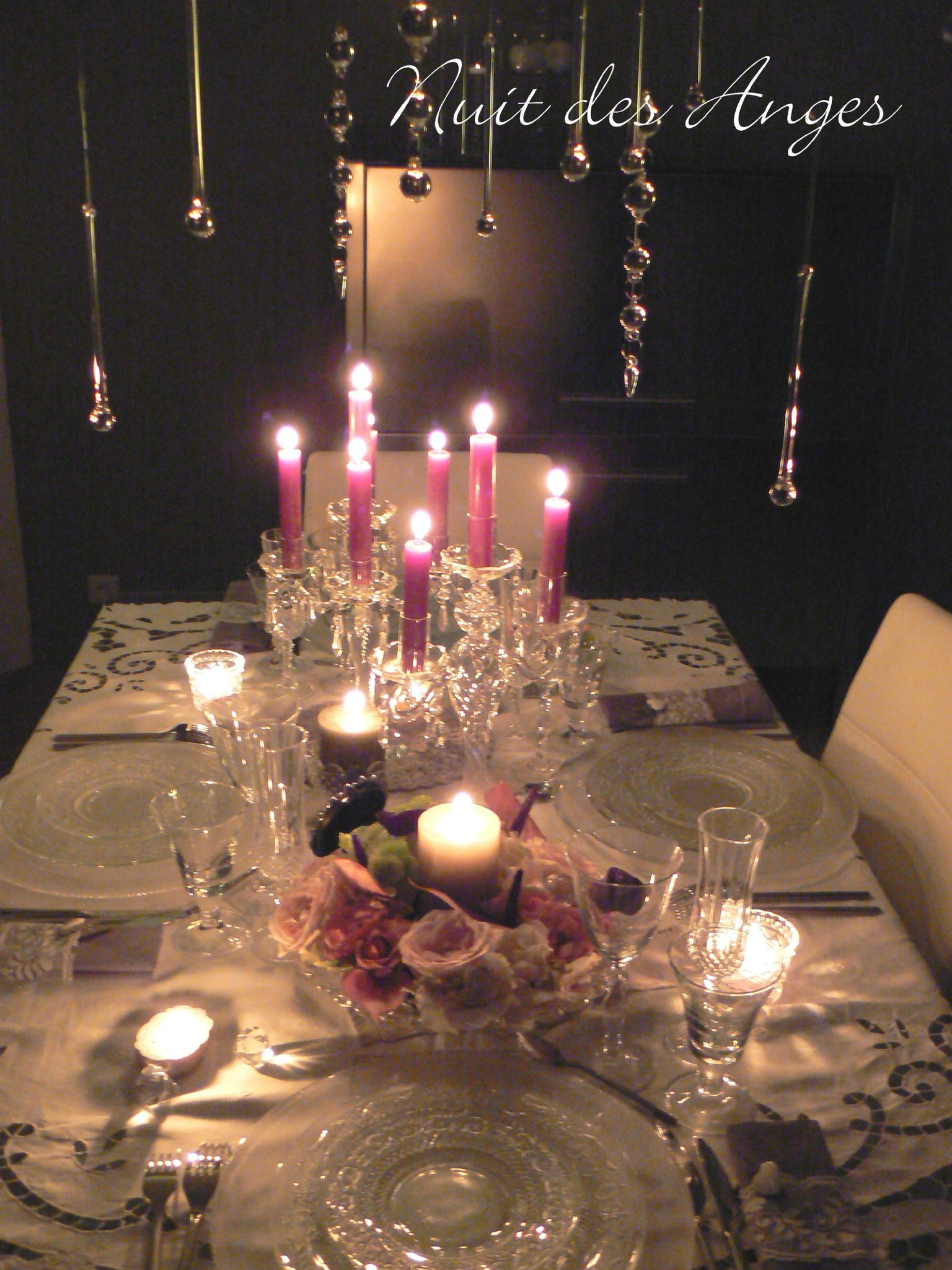 deco romantique table. Black Bedroom Furniture Sets. Home Design Ideas