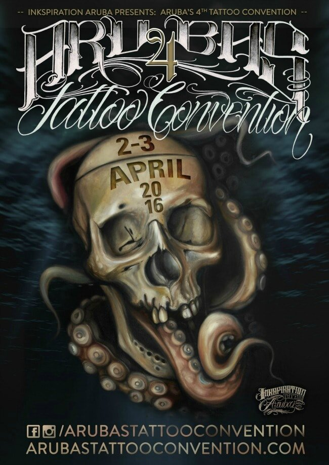 Aruba Tattoo Convention actions 11Awesome 02 - 03 Avril 2016